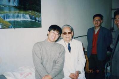 蘭州には中国のみならず日本でも有名な老中医 鄭魁山先生